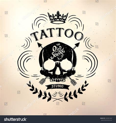 tattoo studio logo vector vector tattoo studio logo templates on stock vector