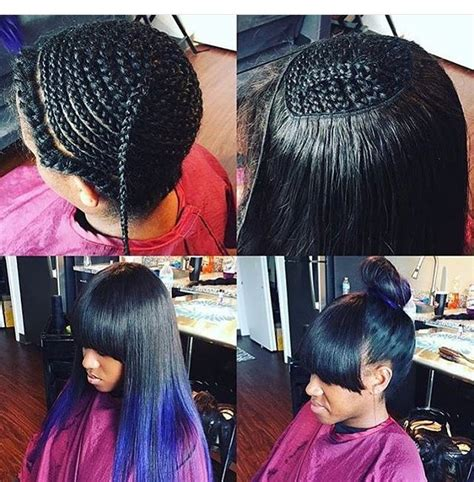 sew in weaves indianapolis versatile sew in hair i like pinterest