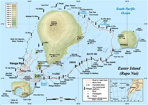 world map easter island easter island map map3