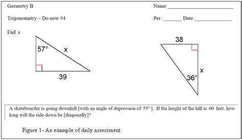 solving right triangles worksheet matelic image solving right triangles worksheet