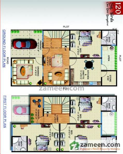 120 sq yard home design floorplans of kings luxury homes saadi road karachi