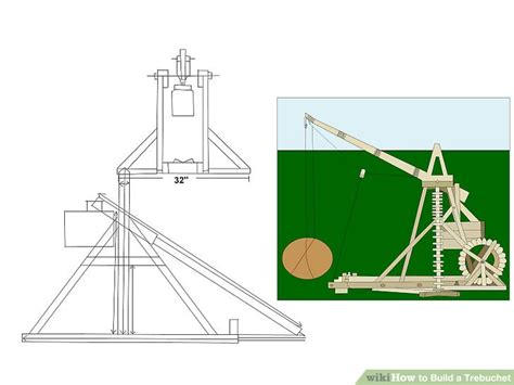 How To Make A Paper Trebuchet - how to build a trebuchet with pictures wikihow