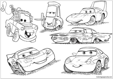 coloring pages mcqueen online disney cars 2 lightning mcqueen movie coloring page free