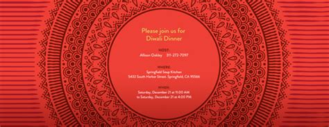 diwali invitation card templates diwali invitations evite