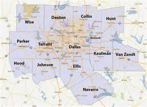 dallas county lines map pictures to pin on