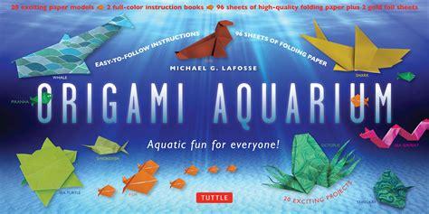 origami aquarium origami aquarium kit 2nd edition newsouth books