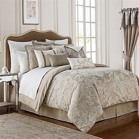 waterford bedding waterford 174 chantelle comforter set bed bath beyond