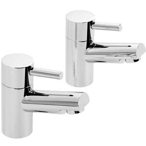 Modern Bathroom Taps Dalton Modern Bathroom Bath Pillar Taps