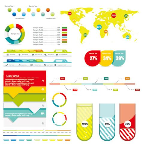 design elements vcd 40 infographic vector kits and resources infographics