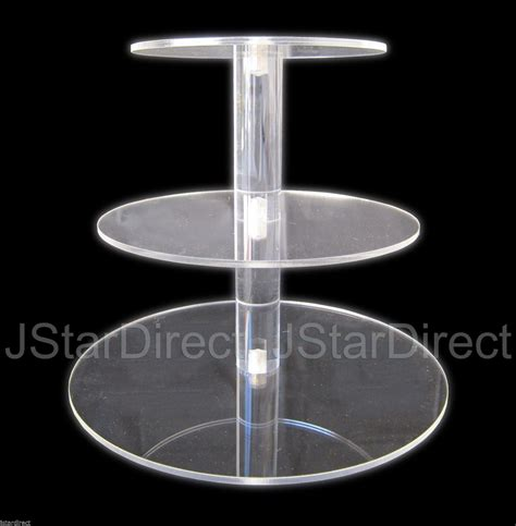 Tier Acrylic square cake stands cheap get of acrylic holder