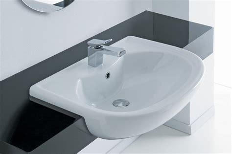 lavabo bagno semincasso lavabo semincasso serie giulia ceramichemichelediprima
