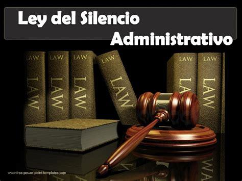 el silencio administrativo docx