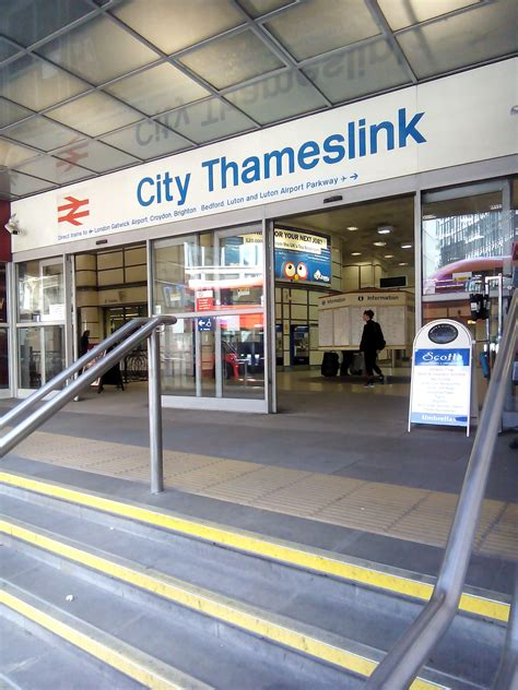 city thameslink station trains to from city thameslink station london uk iris