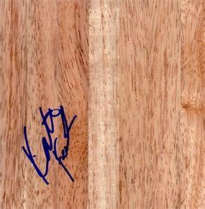 katie feenstra mattera autographed 6x6 basketball