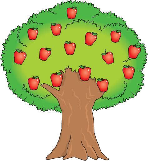 fruit tree clipart fruit tree free clipart