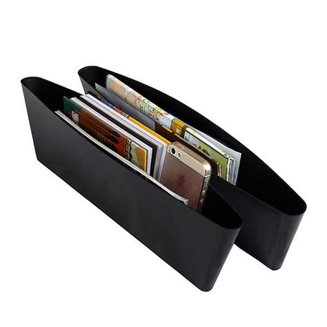 Auto Organizers Seat Holder Gap Pocket 2pcs auto organizers seat holder gap pocket 2pcs black jakartanotebook