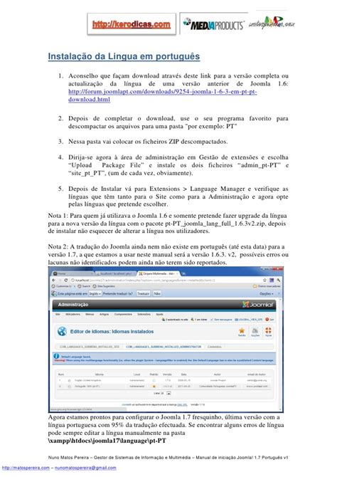 manual for joomla manual joomla 17