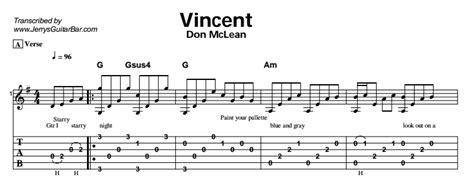 guitar tutorial vincent don mclean vincent guitar lessons jerry s guitar bar