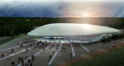 Salle De Sport Futuriste by Antibes Une Salle Sportive Polyvalente D Aspect