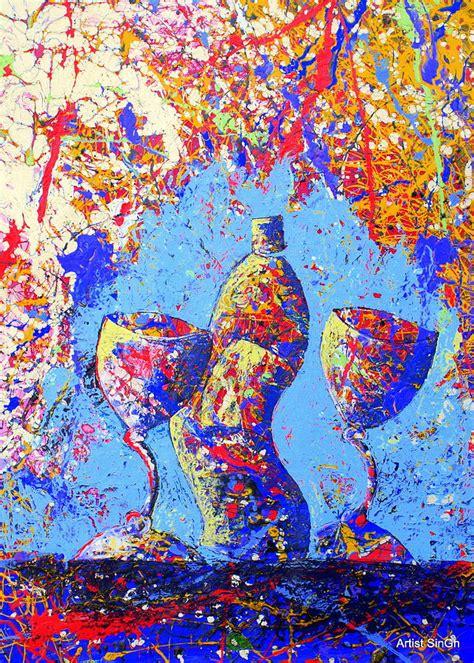 lif art 16 still life 16 painting by artist singh