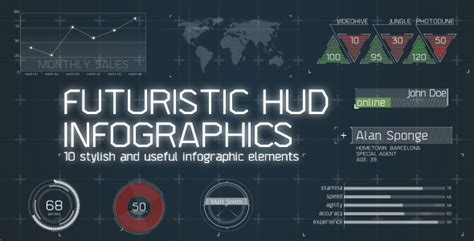 after effects template free phantom hud infographic infographic ideas 187 infographics 3 0 after effects