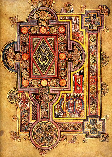 pattern and purpose in insular art book of kells micheline s blog