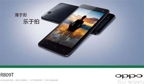 Oppo A71 New By Arena Phone Cell oppo unveils 6 9mm thin mid ranger the r809t gsmarena