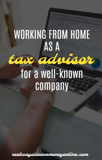 working from home as a tax advisor for intuit