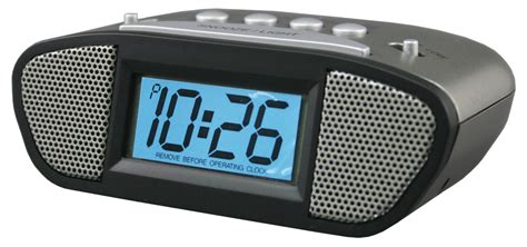 Best Alarm Clock Sound For Heavy Sleepers by Battery Powered Alarm Clocks Alarm Clocks Best