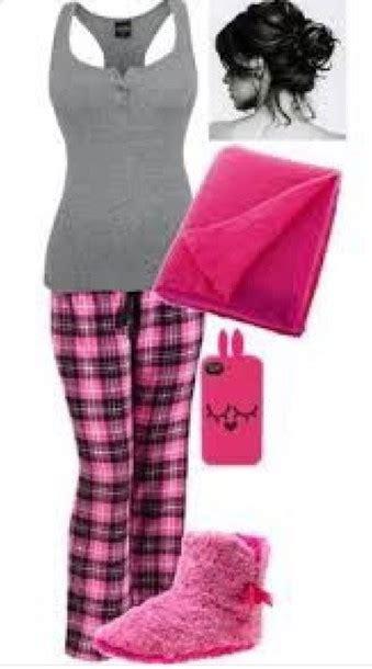 Get Look Bilsons Scanty Pyjamas by Pajamas Plaid Teenagers Pink Grey Tank Top