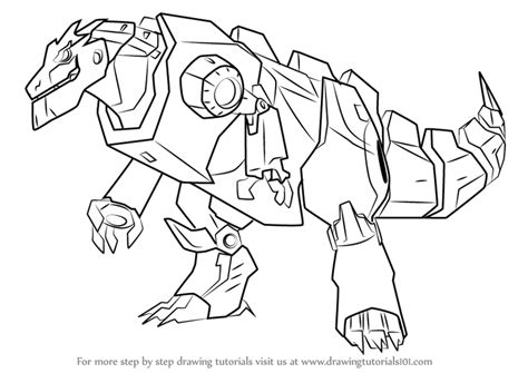 coloring pages transformers grimlock learn how to draw grimlock disguised from transformers