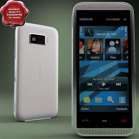 Lcd Nokia 5530 Original nokia 5530 blue 3d model