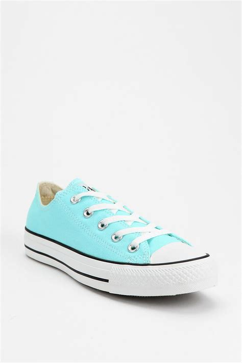 light blue converse converse chuck taylor all star low sneaker in light blue