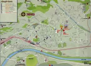 Trento Italy Map trento italy map