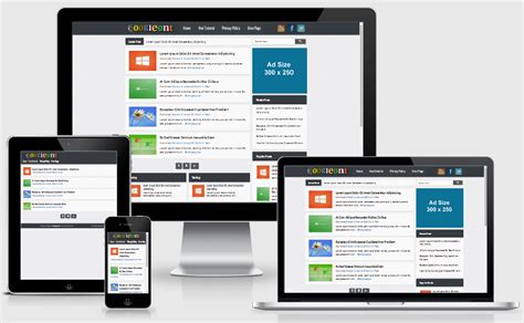 googleont responsive blogger template 171 amazing blogger