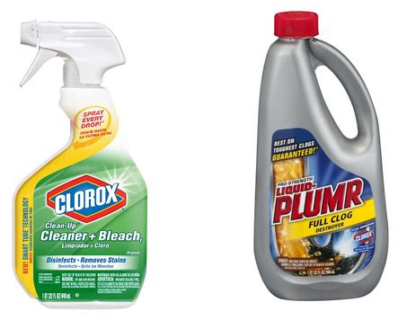 Great Buys on Clorox Cleaner   Bleach and Liquid Plumr at Rite Aid!