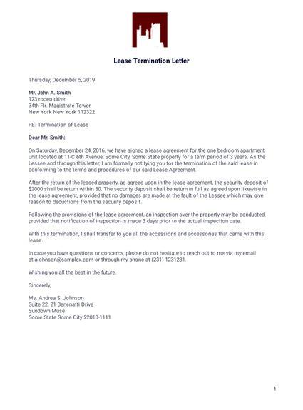 nice termination letter templatescoverletterscom