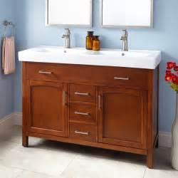 48 double sink bathroom vanity 48 quot bates double vanity oak bathroom