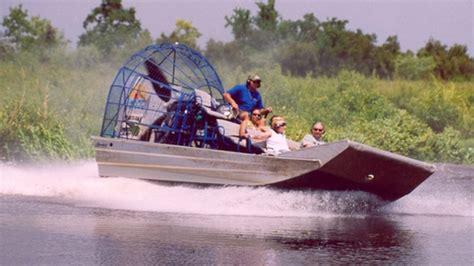 fan boat tour new orleans guided destrehan plantation barataria sw tour new