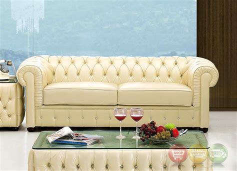 cream leather chesterfield sofa 258 rhinestone tufted chesterfield sofa in cream beige top