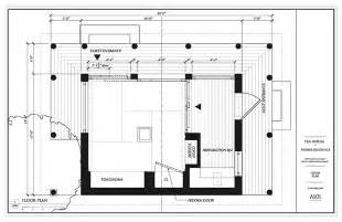 japanese traditional house floor plan japanese tea room plan google search josai university