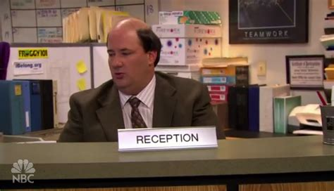 Office Space Kevin Receptionist Quotes Quotesgram