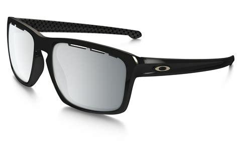 Oakley Silver Vented Frame Black Chrome Iridium Lens oakley sliver sunglasses halo black collection