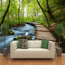 Wall Paper Murals 3d Three Dimensional Wallpaper Landscape Wallpaper Murals