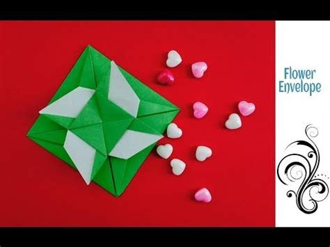 Secret Message Origami - origami paper paper flowers and origami on