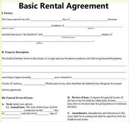 simple rental agreement template basic residential lease agreement basic rental agreement 1