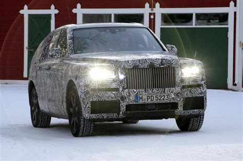 rolls royce cullinan suv pictures auto express
