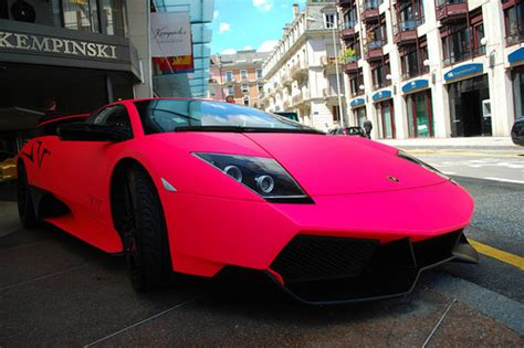 Pink Lamborghini Car Pink Cars