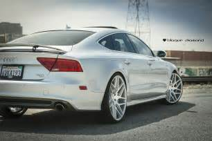 Audi A7 22 Wheels 2012 Audi A7 Fitted With 22 Inch Bd 3 S In Silver Machined