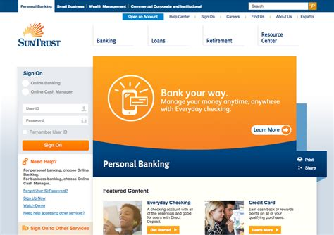 suntrust bank website top 530 reviews and complaints about suntrust
